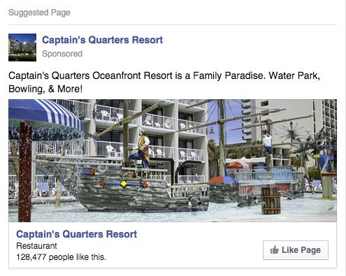 реклама на хотел във фейсбук